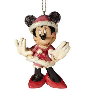 SANTA MINNIE Hanging Ornament - Jim Shore Figur A27084  – Bild 1