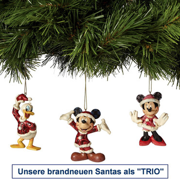 SANTA MINNIE Hanging Ornament - Jim Shore Figur A27084  – Bild 2