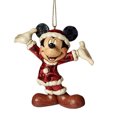 Santa Mickey - Disney Christmas Ornament A27083 – Bild 1