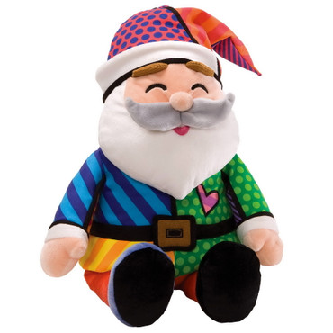 Romero Britto Plush – Santa with music m - 4027885 – Bild 2