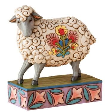 GENTLE AS A LAMB - FOLK SHEEP Figur Jim Shore