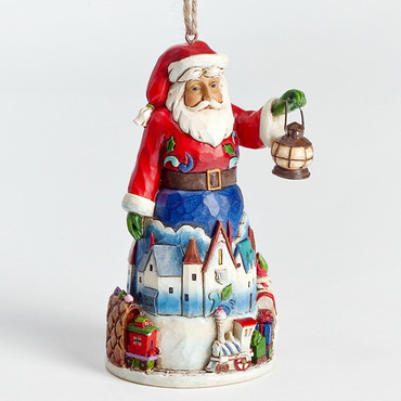 Heartwood Creek – Hanging Ornament – Santa with Train  – Bild 2
