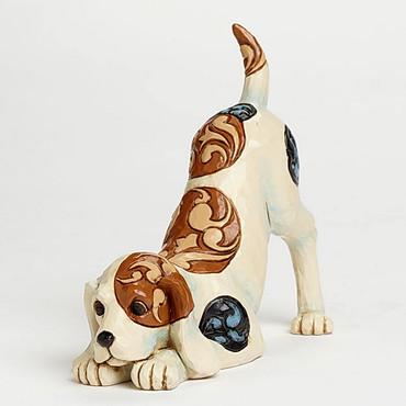 "Heartwood Creek – Dog Playing Figurine - ""Bailey"" – Bild 1"