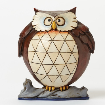 """Heartwood Creek – Pint Sized Lazy Owl - """"Wise and Well-Rounded"""" – Bild 1"""