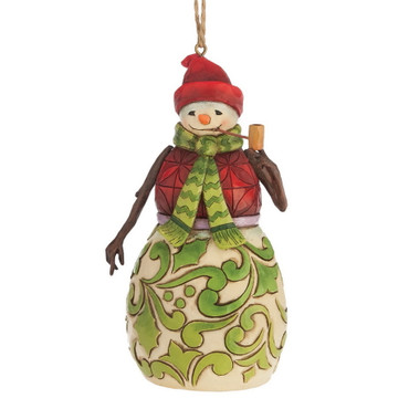 Heartwood Creek – Hanging Ornament – Red / Green Snowman – Bild 1