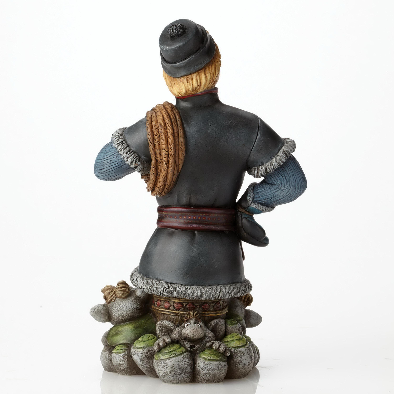 "Grand Jester Figur 4050096 Enesco DISNEY Skulptur /""Kristoff Frozen mit Trollen/"""