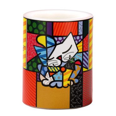 BLUE CAT Motivkerze Romero Britto