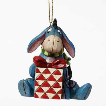 "ENESCO DISNEY CHRISTMAS Hanging Ornament ""EEYORE - mit Geschenk"" Jim Shore Figur A27553 – Bild 1"