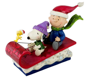 Snow Day - THE PEANUTS Skulptur 4052726