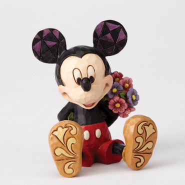 ENESCO DISNEY Skulptur MICKEY MOUSE with Flowers Jim Shore Figur 4054284  – Bild 1