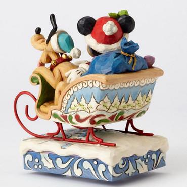 "ENESCO DISNEY CHRISTMAS DEKORATION ""MICKEY & PLUTO"" Jim Shore Spieluhr 4052003 – Bild 3"