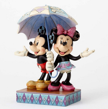 "ENESCO DISNEY Skulptur ""MICKEY & MINNIE MOUSE - Rainy Day Romance"" Jim Shore Figur 4054280 – Bild 3"