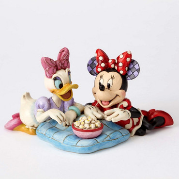 "ENESCO DISNEY Skulptur ""DAISY DUCK & MINNIE MOUSE - Girls Night"" Jim Shore Figur 4054282 – Bild 1"