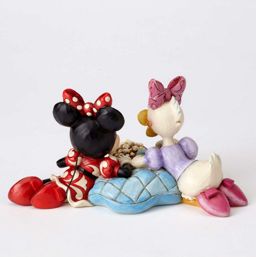 "ENESCO DISNEY Skulptur ""DAISY DUCK & MINNIE MOUSE - Girls Night"" Jim Shore Figur 4054282 – Bild 4"