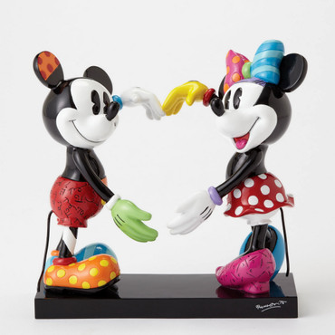 Mickey & Minnie Mouse ROMERO BRITTO Figur 4055228 – Bild 1
