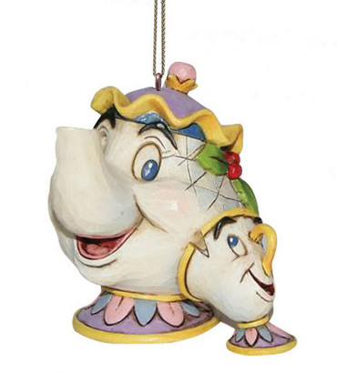 Mrs Potts and Chip A21431 Hanging Ornament
