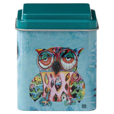Cat and Owl - Storage Tin Set - D119 – Bild 3
