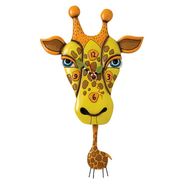 Jaffy The Giraffe - Clock - P1452