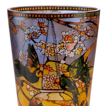 SITTICHE Vase Kristall Louis Comfort Tiffany – Bild 2