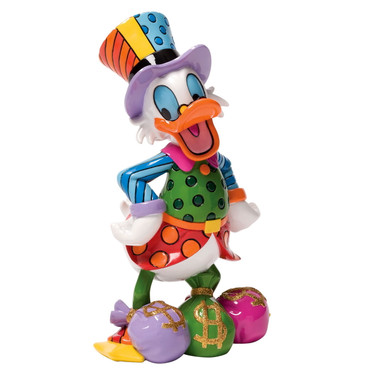 Uncle Scrooge ROMERO BRITTO Statement Skulptur 4033894 – Bild 1