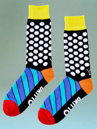 "ROMERO BRITTO ""Dots"" Herrensocken"
