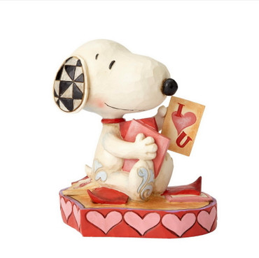 Puppy Love - THE PEANUTS Skulptur 4055652  – Bild 1
