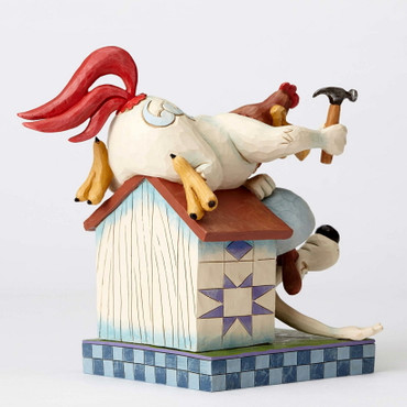 LOONEY TUNES Skulptur by Jim Shore - Foghorn Leghorn and Dawg  – Bild 4