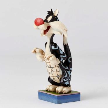 LOONEY TUNES Skulptur by Jim Shore Sylvester - Predatory Puddy Tat – Bild 1
