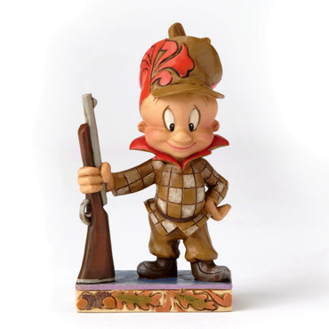 LOONEY TUNES Skulptur by Jim Shore - Happy Hunter - Elmer Fudd – Bild 1