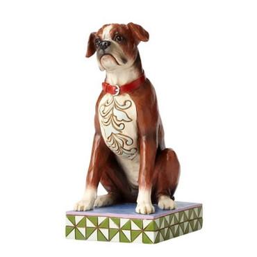 ENESCO Animals Skulptur - Hundefigur - Boxer- Bruno - Jim Shore Figur 4056958 – Bild 1
