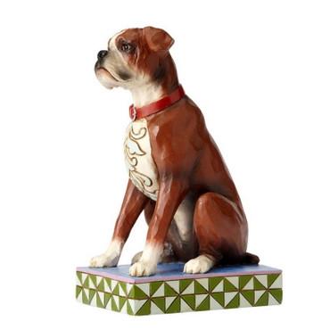 ENESCO Animals Skulptur - Hundefigur - Boxer- Bruno - Jim Shore Figur 4056958 – Bild 2