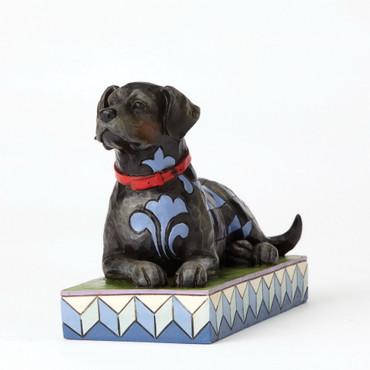 ENESCO Animals Skulptur - Schwarzer Labrador - Jim Shore Figur 4056956 – Bild 1