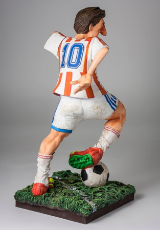 COMIC ART SCULPTUR - The Soccer Player - Fußballspieler – Bild 3