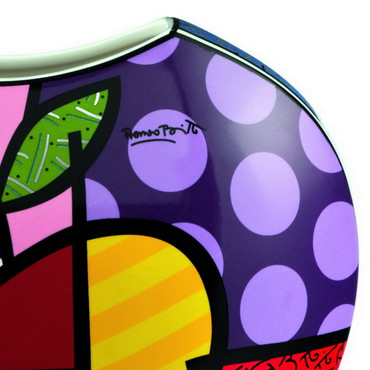 BIG APPLE Vase Romero Britto – Bild 2