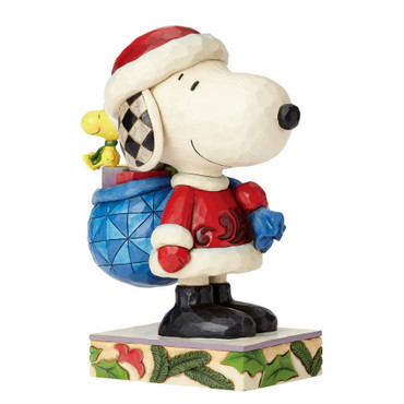 Here Comes Snoopy Claus - THE PEANUTS Skulptur 4057672  – Bild 2