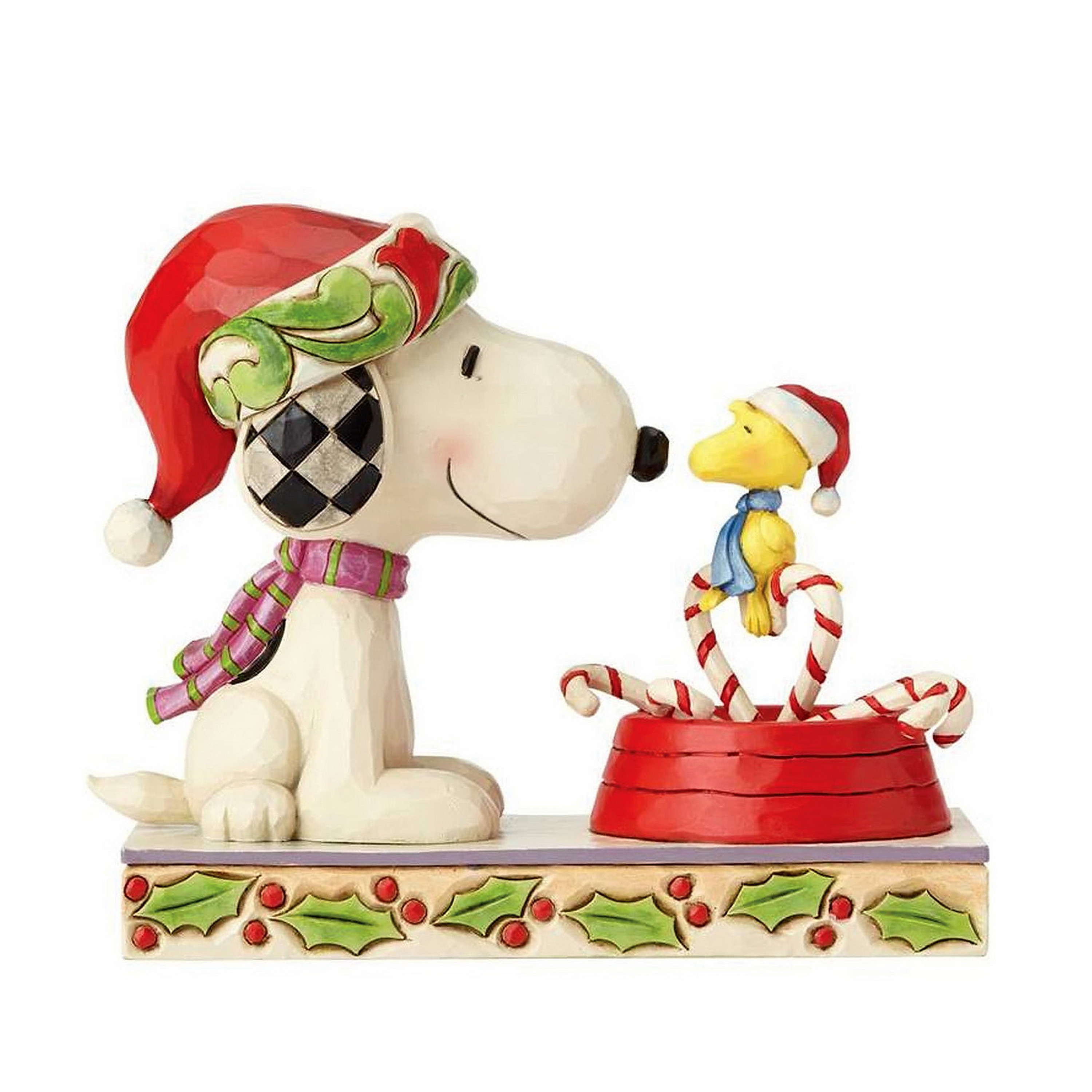 Candy Cane Christmas - THE PEANUTS Skulptur 4057678 Comic Art THE ...