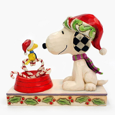 Candy Cane Christmas - THE PEANUTS Skulptur 4057678  – Bild 1
