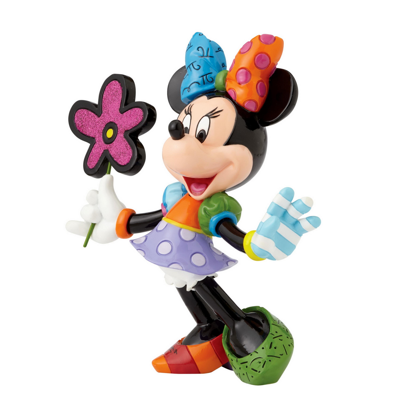 Romero Britto - Minnie Mouse mit Blume - 4058181 - Disney Figur ...