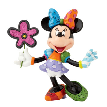 MINNIE MOUSE FLOWER Skulptur Romero Britto – Bild 1
