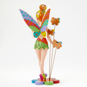 TINKER BELL ON FLOWER Skulptur Romero Britto – Bild 3