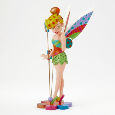 TINKER BELL ON FLOWER Skulptur Romero Britto – Bild 1