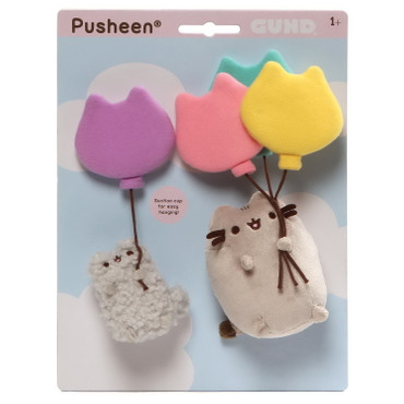 Pusheen and Stormy with Balloons - Anhänger - 4060106 – Bild 1