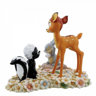 PRETTY FLOWER - BAMBI THUMPER & FLOWER Skulptur  – Bild 2
