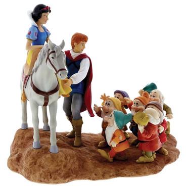 Snow White, Prince & Seven Dwarfs - Joyful Farewell - A28731  – Bild 3