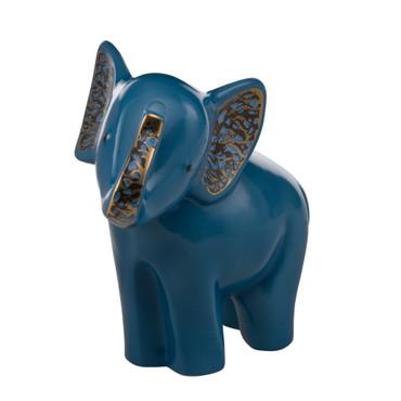 Elephant de Luxe - SOLANGO - Blau mit Echtgoldauflage – Bild 1