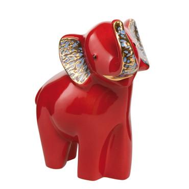 Elephant de Luxe - SOKOTEI - Elephant Rot mit Echtgoldauflage – Bild 1