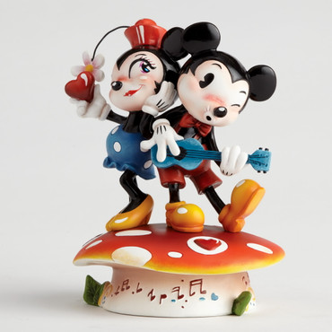 "MISS MINDY Skulptur ""Mickey & Minnie Mouse""  – Bild 2"