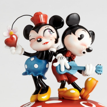 "MISS MINDY Skulptur ""Mickey & Minnie Mouse""  – Bild 4"
