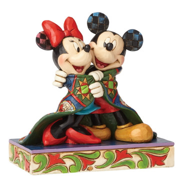 WARM WISHES Mickey&Minnie Skulptur Jim Shore – Bild 3