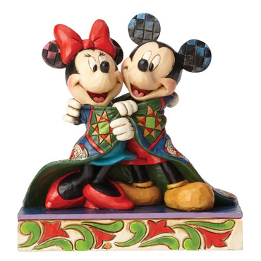 WARM WISHES Mickey&Minnie Skulptur Jim Shore – Bild 1